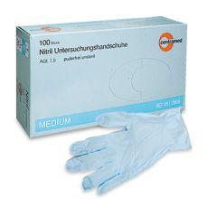 Centramed Nitril Handschuhe puderfrei blau